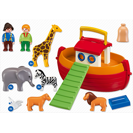 Playmobil 1.2.3 Meine Mitnehm-Arche Noah 6765