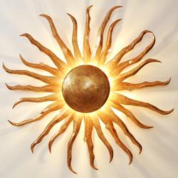 Sonne Gigante Wand- und Deckenleuchte - gold