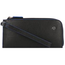 Piquadro Mobiel telefoonhoesje RFID Leer 19 cm black