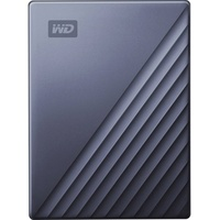 Western Digital My Passport Ultra 4TB USB-C 3.0 blau (WDBFTM0040BBL-WESN)