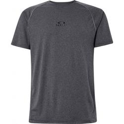 OAKLEY HEATHERED TOP T-Shirt 2021 dark grey heather - XL
