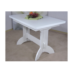 Esstisch Toledo, ausziehbar auf 170 cm weiß Ausziehbare Esstische Tische