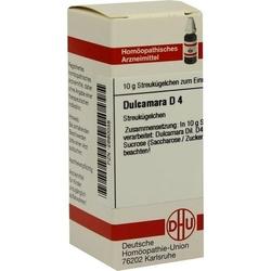 DULCAMARA D 4 Globuli 10 g