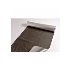acerto® Dämmunterlage acerto® Gummikork-Trittschalldämmung mit Alufolie 1,05m x 10m