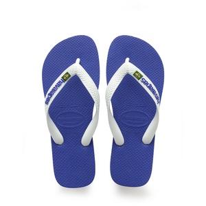 havaianas Brasil Logo Flips blau/weiß EU 47-48   Brazilian 45-46 2021 Zehentrenner