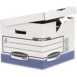 Bankers Box Archivboxen 37,7 x 39,5 x 31 cm 10 Stück