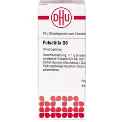PULSATILLA D 6 Globuli 10 g