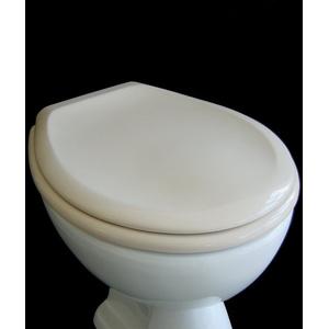 WC Sitz Klobrille Farbe Beige, Duroplast, 10 Jahre Garantie