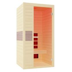 Interline Infrarotkabine Ruby für 1 Person, 98,6 x 93,8 x 190 cm