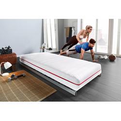 Komfortschaummatratze HKS 2100, BeSports, 21 cm hoch, Machen Sie sich fit und gesund, Tag und Nacht 160 cm x 200 cm x 21 cm