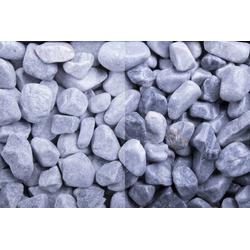 Marmor Kristall Blau getrommelt, 15-25, 500 kg Big Bag