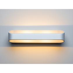 LED-Wandleuchte Grand Palais weiß, 7x30x9.4 cm