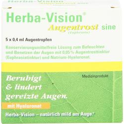 HERBA-VISION Augentrost sine Augentropfen 2 ml