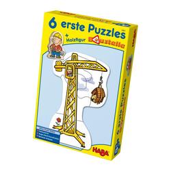 Haba Puzzle Erstes Puzzle Baustelle 13-tlg., 12 Puzzleteile