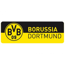 Wandtattoo BVB Schriftzug Banner (1 Stück) 60 cm x 20 cm x 0,1 cm