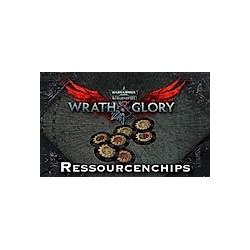 WH40K Wrath & Glory - Resourcenchips