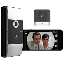 WLAN-Video-Türklingel mit App, Klingelempfänger, 180° Bildwinkel, Akku