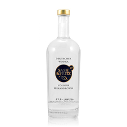 Sash & Fritz Wodka 0,7L (40% Vol.)