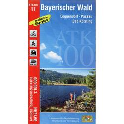 Bayerischer Wald 1 : 100 000