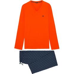 Hom Pyjama Long Sleepwear 'Malmousque' (1 tlg) 2XL