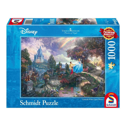 Schmidt Spiele Puzzle Disney Cinderella Thomas Kinkade, 1000 Puzzleteile bunt