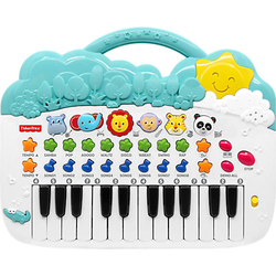Fisher Price Animal Piano blau/weiß