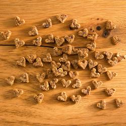 alsa-nature Puten-Herzen, 250 g, Hundefutter