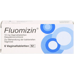 FLUOMIZIN 10 mg Vaginaltabletten 6 St.