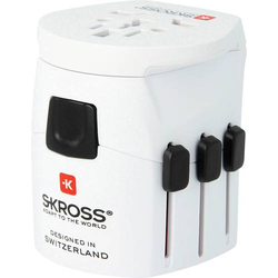 Skross 1103160 Reiseadapter Pro Light World