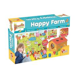 Lisciani Lernspielzeug Happy Farm