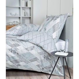 JANINE Moments 98047 silber/graphit (135x200+80x80cm)