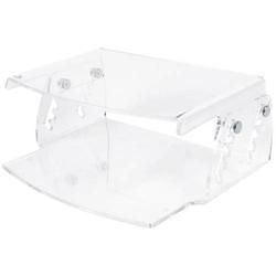 Monitorständer LCD HV 550 Acryl transparent