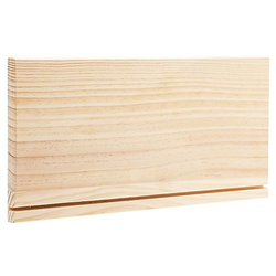 Schlüsselbrett aus Holz, 40 x 20 x 2 cm