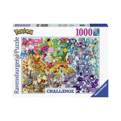 Ravensburger Puzzle Puzzle 1000 Teile, 70x50 cm, Pokémon, Puzzleteile
