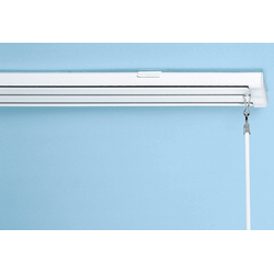 sunlines Schienensystem, 2 läufig-läufig, Wunschmaßlänge weiß Gardinenschienen Gardinen Vorhänge Schienensystem