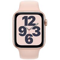 Apple Watch SE GPS + Cellular 44 mm Aluminiumgehäuse gold, Sportarmband sandrosa