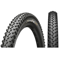 "Continental Cross King Performance Clincher Tyre 26x2"" E-25 black 50-559   26x2"" 2020 MTB Reifen Conti 2.0 Perf. Draht 26x2.00' schwarz/schwarz Skin (1 Stück)"