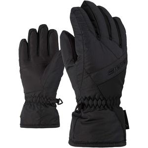Ziener Kinder LINARD GTX glove junior Ski-handschuhe/Wintersport   Wasserdicht, Atmungsaktiv, , schwarz (Black), 7