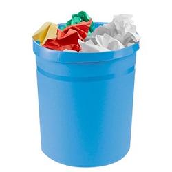 HAN Grip Papierkorb 18,0 l hellblau