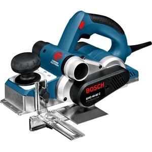 Bosch Professional Hobel GHO 40-82 C (850 Watt, inkl. Falztiefenanschlag, Parallelanschlag, Staubbeutel, Zusatzmesser, im Koffer)