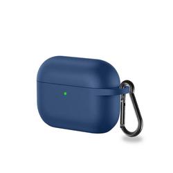 CoverKingz Etui Hülle für Apple AirPods 3 / AirPods Pro Silikon Case Cover Bumper Tasche Blau Apple AirPods Pro / AirPods 3 blau