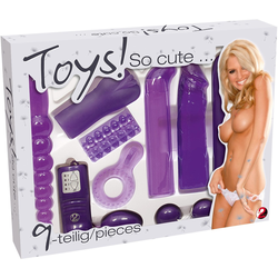You2Toys Erotik-Toy-Set Toys So Cute, 9-tlg.