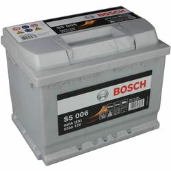 Bosch S5 006 Autobatterie 63Ah