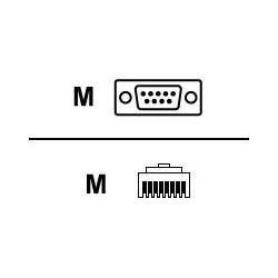 Cisco - AIR-CONCAB1200 - Cisco Kabel seriell - DB-9 (M) bis RJ-45 (M)