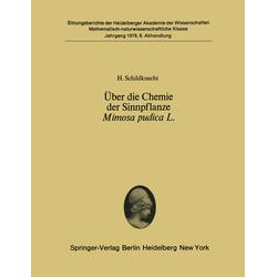 Über die Chemie der Sinnpflanze Mimosa pudica L. als Buch von H. Schildknecht