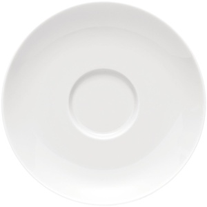 Rosenthal - Moon - Kaffee-Untertasse - Weiß - Ø14,5 cm