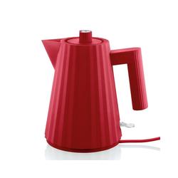 Alessi Wasserkocher Wasserkocher Plissé 1l rot, 1 l