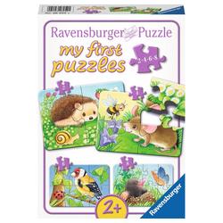 Ravensburger Puzzle Süße Gartenbewohner - My First Puzzles, 20 Puzzleteile