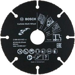 BOSCH Trennscheibe Multi Wheel für Holz, Holz mit Nägeln, Kunststoff, Kupfer, Trockenbauwände