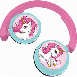 Einhorn Kopfhörer pink/blau